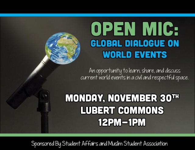 Global Open Mic