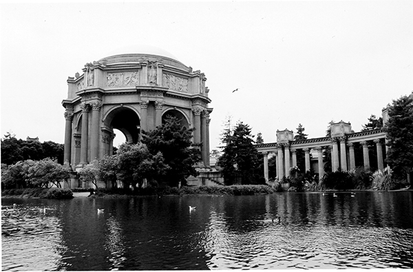 The Palace of Fine Arts from The Panama-Pacific World's Fair as it stands today. (Photo by Abington Review Staff)